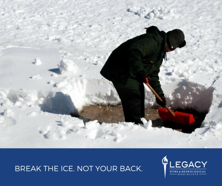 proper snow shoveling tips