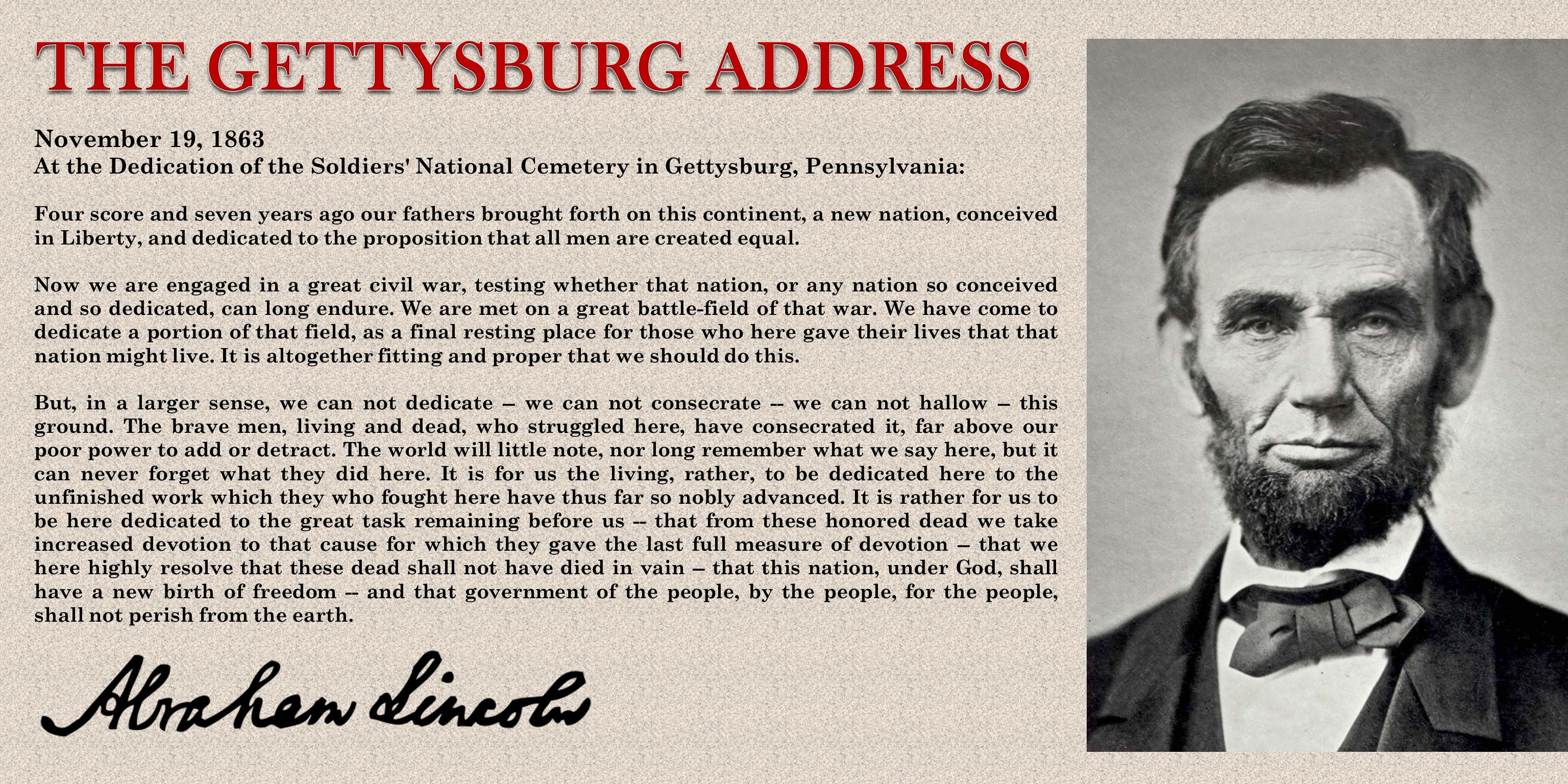 gettysburg address legacy spine neurological specialists gettysburg address